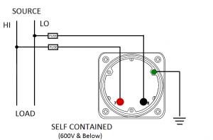 AC Voltmeter Ex. Mult box