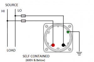 AC Voltmeter Self-Contained
