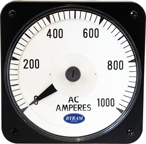 Metal Case Switchboard AC Ammeter