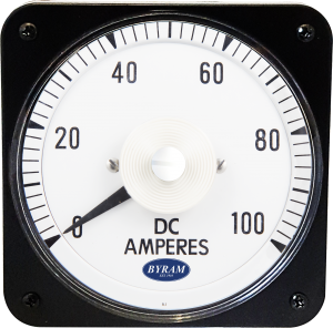 Metal Case Switchboard DC Ammeter