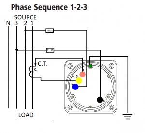 Power factor 3 phase 4 wire