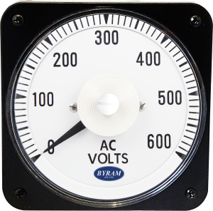 Metal Case Switchboard AC Voltmeter