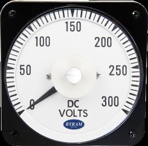 Metal Case Switchboard DC Voltmeter