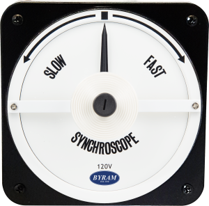 Metal Case Switchboard Meter Synchroscope