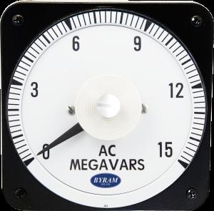 Metal Case Switchboard AC Varmeter