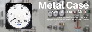 Metal Case Switchboard Meters